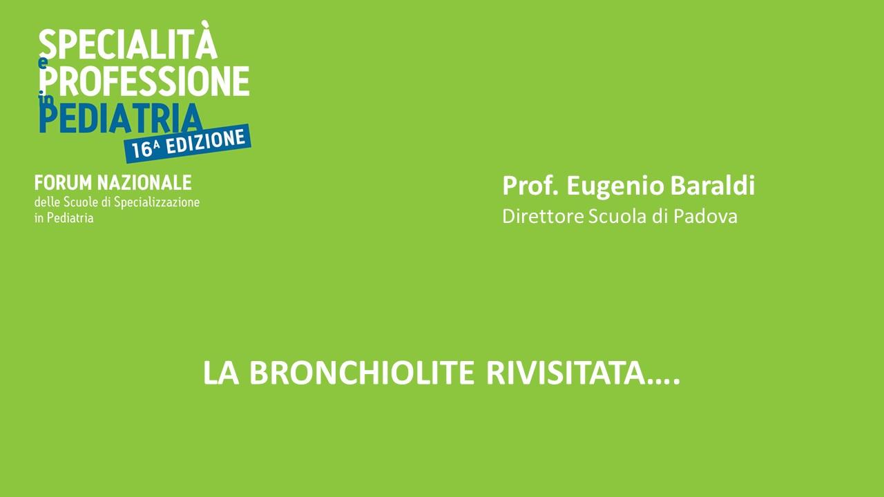 LA BRONCHIOLITE RIVISITATA….