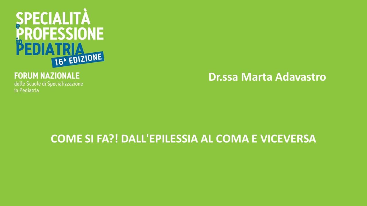 COMA SI FA?! – DALL'EPILESSIA AL COMA E VICEVERSA